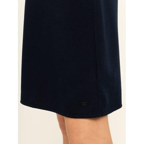 Tommy Hilfiger női rövid ujjú ruha fekete színben