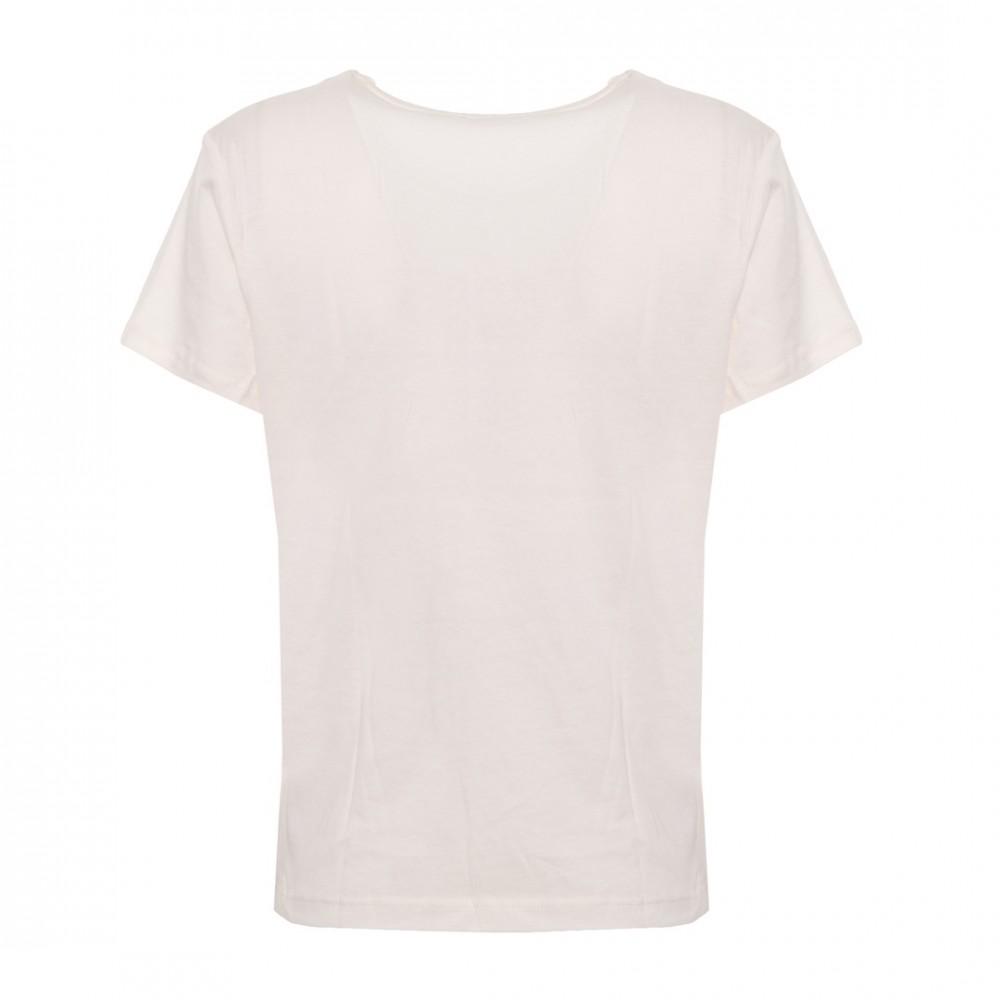 8ea3e9e70d Guess női póló flitteres felirattal fehér színben - Dress Hunter ...