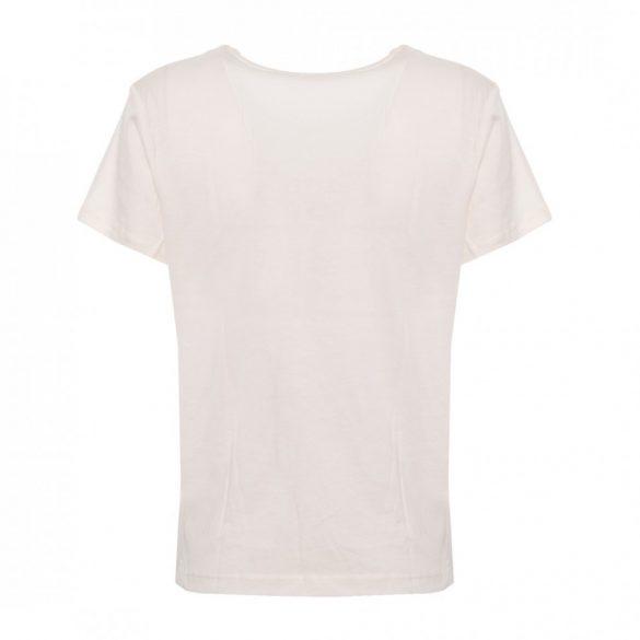 Guess női póló flitteres felirattal fehér színben