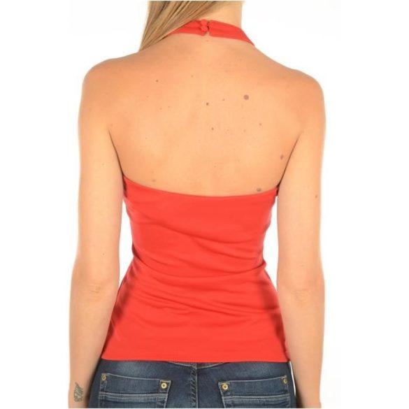 Guess női keresztpántos felső piros színben