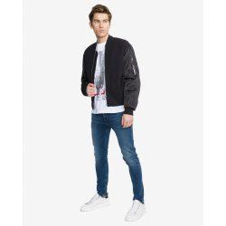 Calvin Klein Jeans férfi bomber fazonú átmeneti kabát fekete színben