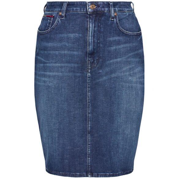 Tommy Jeans női farmerszoknya prémium stretch anyagból