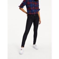 Tommy Jeans Mid Rise Skinny Nora női farmernadrág sötétkék színben