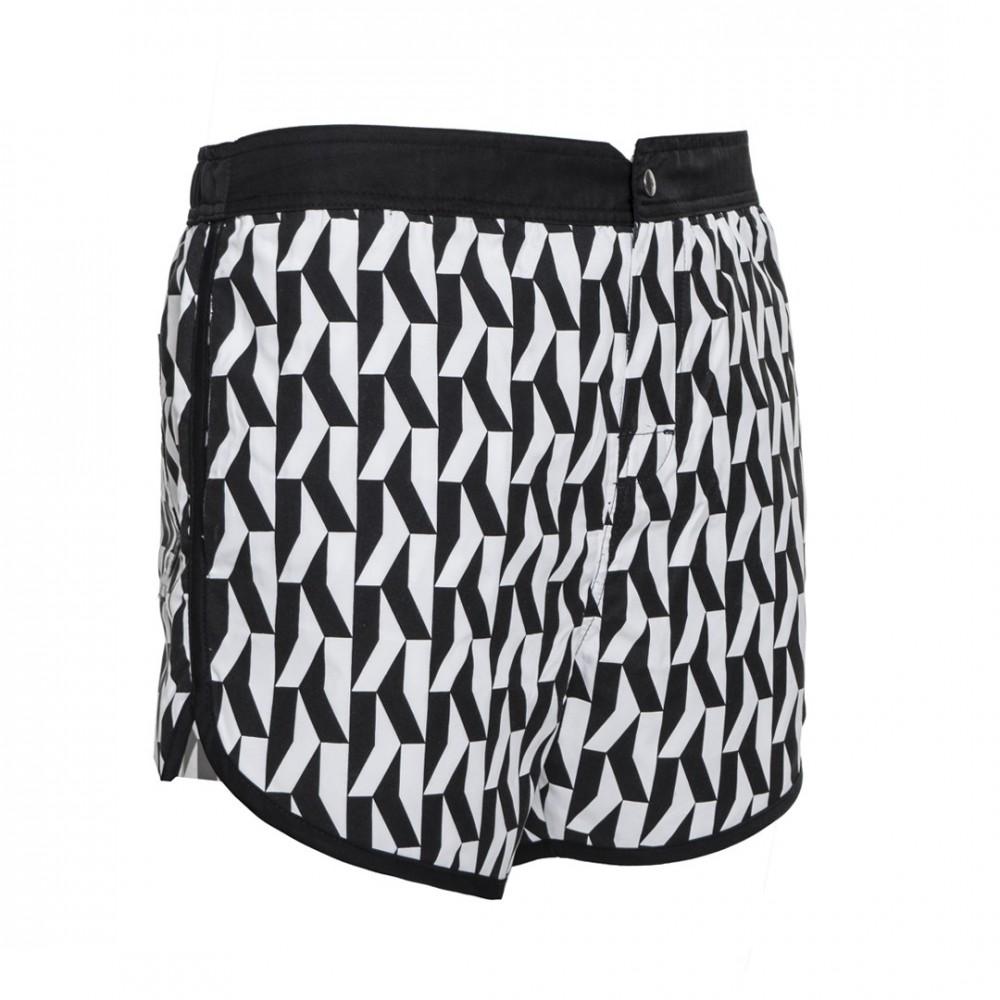 25196b03db Karl Lagerfeld férfi úszónadrág fekete-fehér színben - Dress Hunter ...